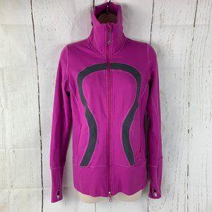 Lululemon Athletica Purple Zup Up Jacket